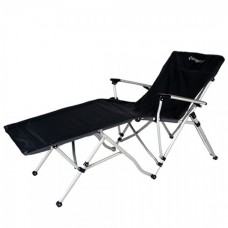 3847 Alu Lying chair кресло скл. алюм